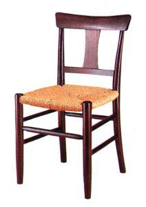 ラッシ編み椅子